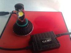 画像2: GOD スーパーLEDヘッドライトキット H11 1灯 ホワイト 2400LM  (2)
