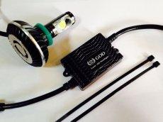 画像1: GOD スーパーLEDヘッドライトキット H11 1灯 ホワイト 2400LM  (1)