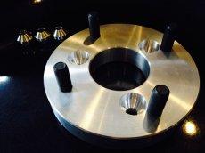 画像2: CJ43 スカイウェイブ 3穴〜4穴変換 四輪ホイールハブキット (2)