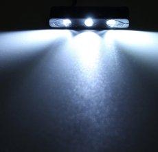 画像3: GOD 12v 汎用 3LED ナンバー灯 ホワイト (3)