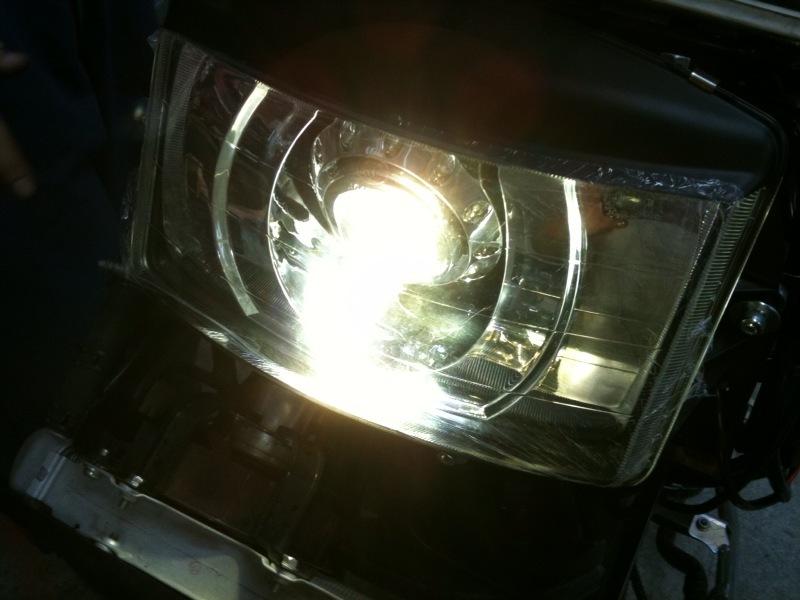 画像1: GOD JEWELRY HID H4LO 1灯セット フュージョン (1)