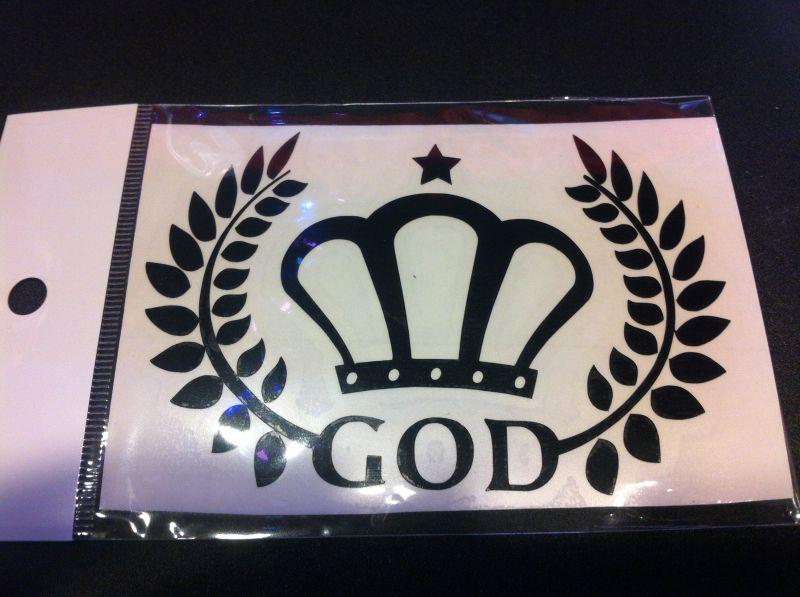 画像1: GOD ステッカー (1)