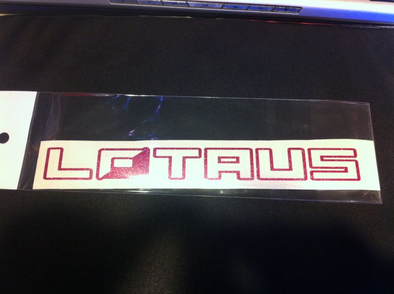 画像1: LOTAUS ステッカー (1)