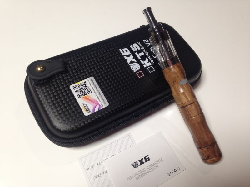 画像1: ウッド kamry VAPE X6 本体 充電器 ケース セット 正規品 電子タバコスターターキット (1)